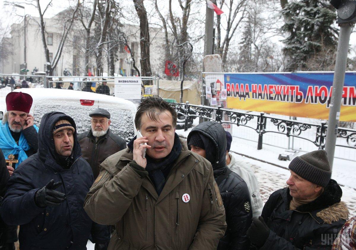Саакашвили хотел помыться в гостинице / фото УНИАН