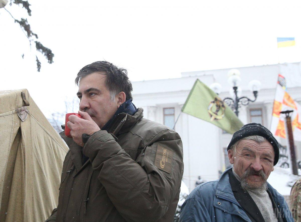 У ЗМІ з'явилася інформація про погану самочуствии Саакашвілі / фото УНІАН