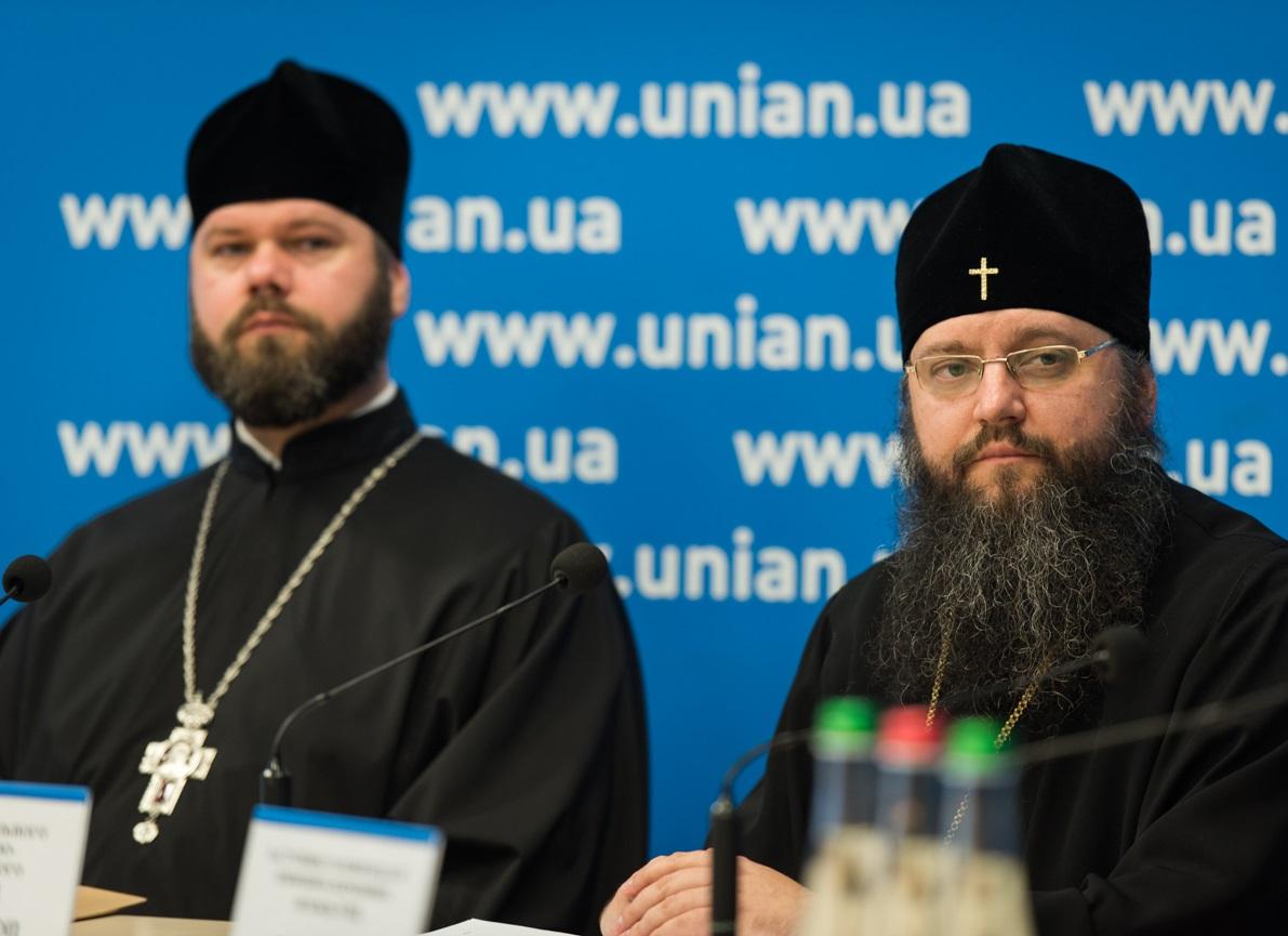 Спикеры УПЦ на пресс-конференции