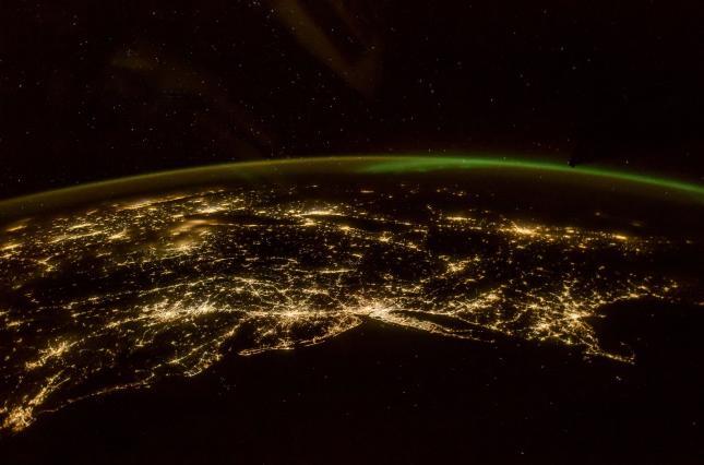Астронавт NASA сделал необычайный снимок северного сияния изкосмоса
