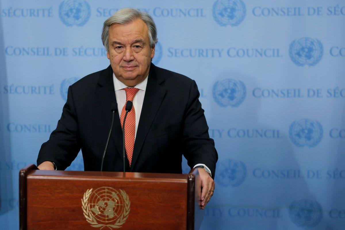 Гутерриш призвал сделать все, чтобы прекратить огонь во всех конфликтах в мире/ фото REUTERS