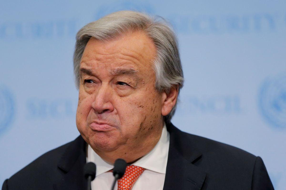 Антоніу Гутерріш закликав сторони конфлікту повернутися до мирних переговорів / REUTERS
