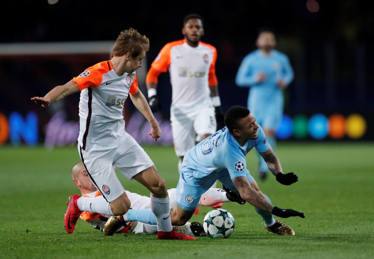 """Шахтер"" обыграл ""Манчестер Сити"" / Reuters"