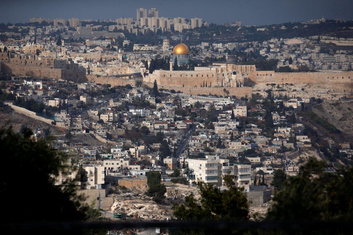 Вид на старе місто Єрусалиму / REUTERS
