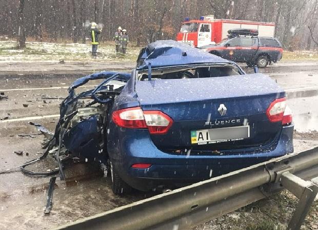 Сейчас полиция устанавливает механизм смертельной аварии / Фото kyiv.npu.gov.ua