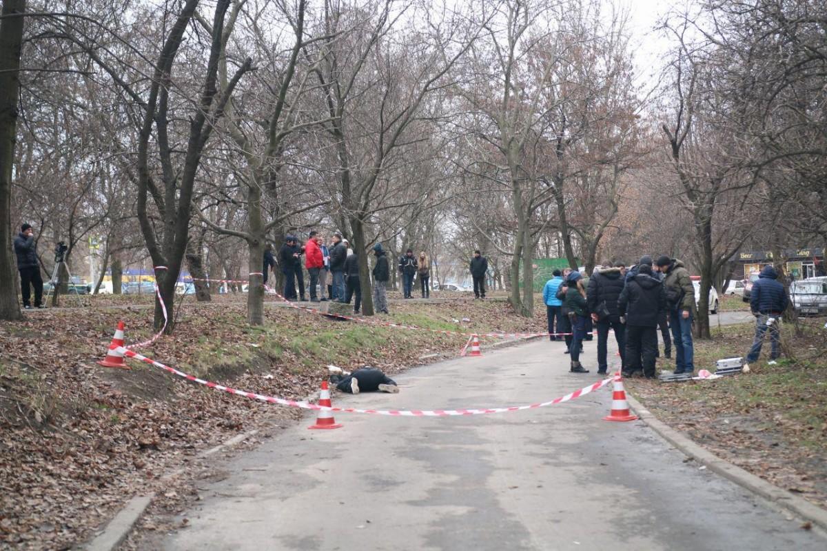 Чоловіка розстріляли серед білого дня / фото dp.informator.ua
