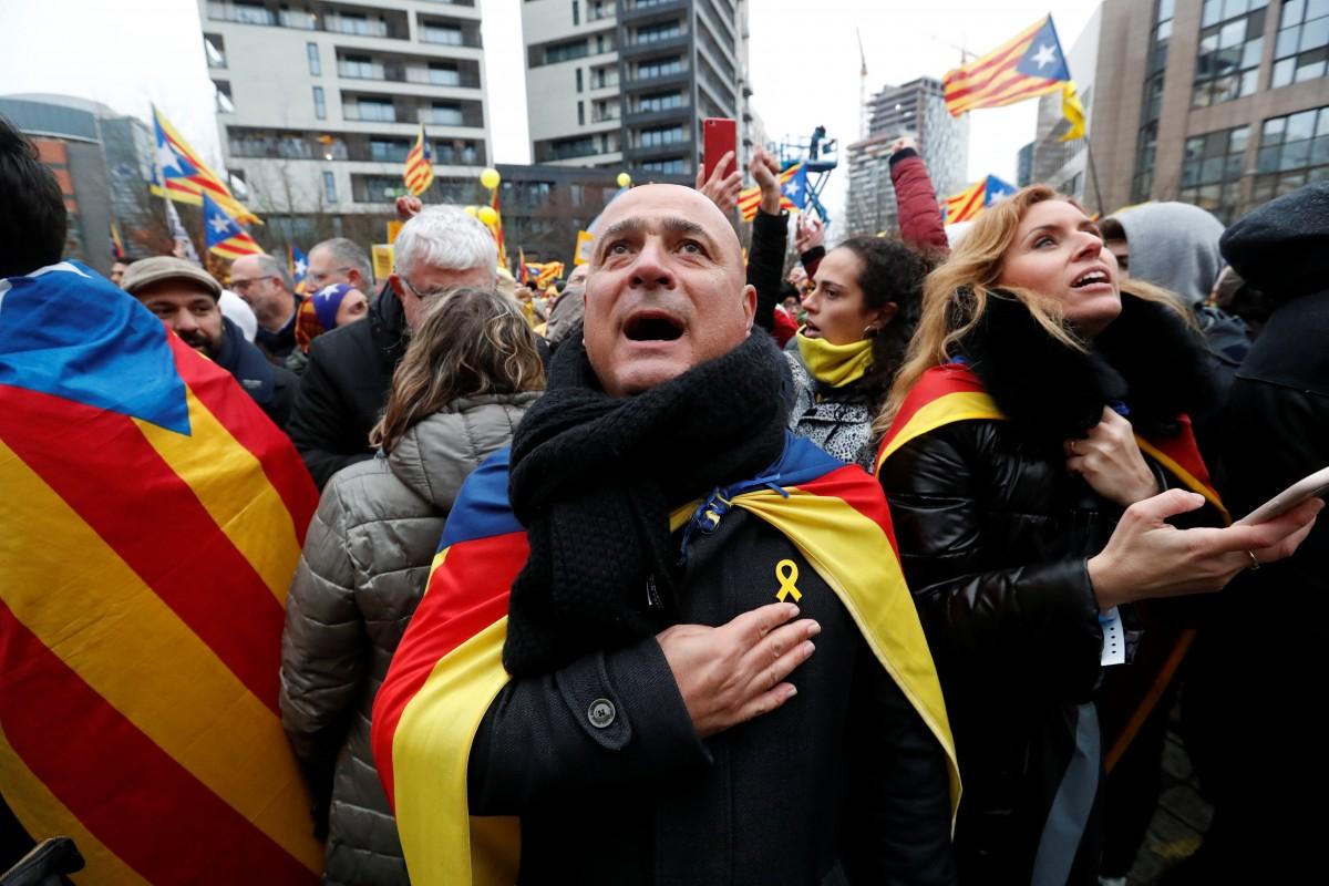 Мітинг на підтримку незалежності Каталонії, ілюстрація / REUTERS