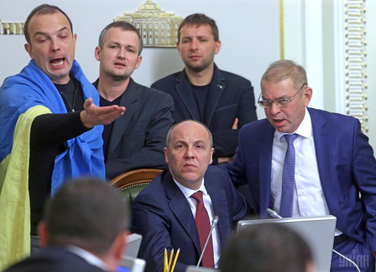 Парубій: Сьогоднішнє рішення не зробило український парламент сильнішим / Фото УНІАН
