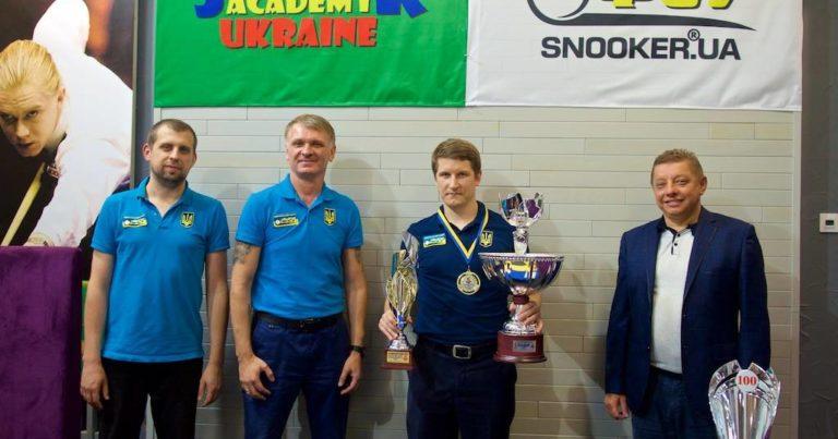 Сергей Исаенко выиграл  Кубок Независимости Украины по снукеру / top-snooker