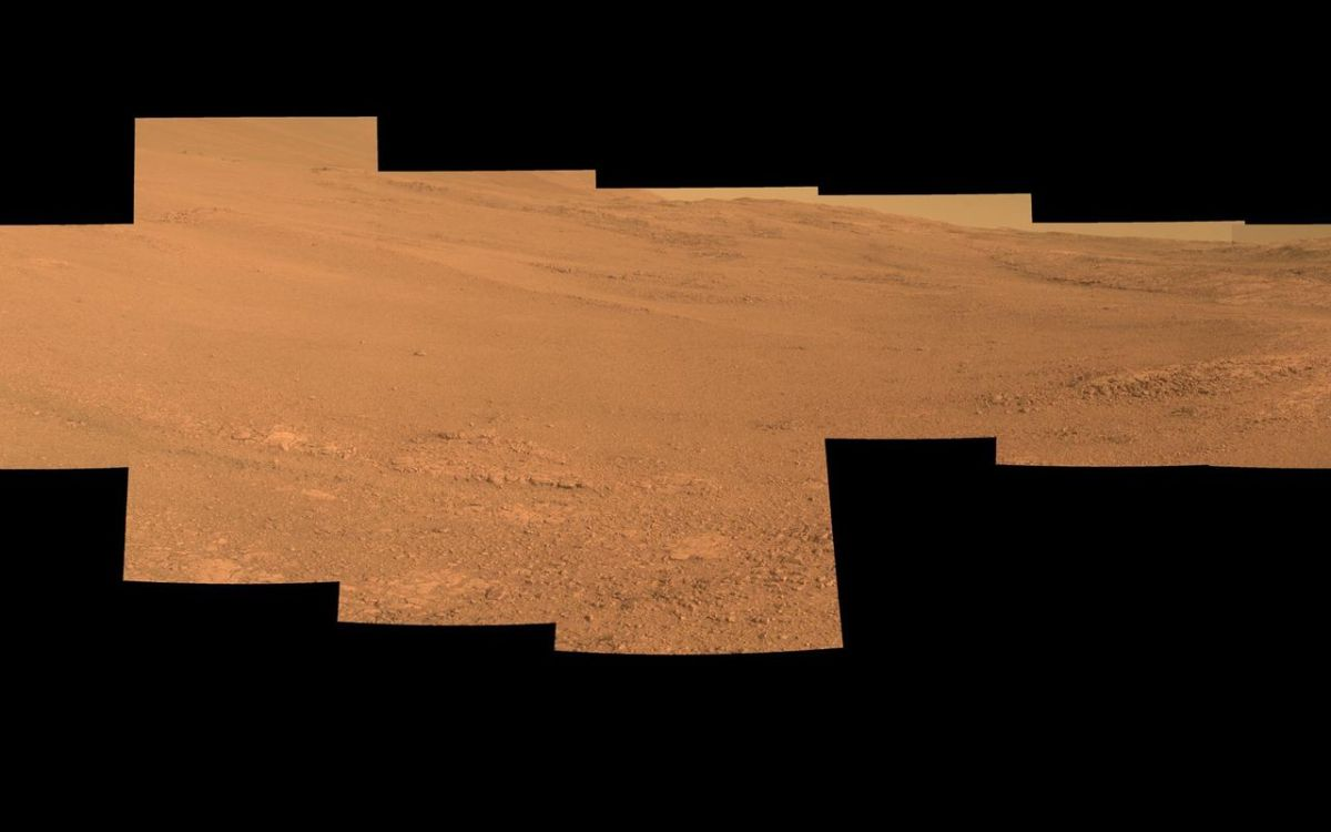 Марсоход Opportunity сказал  первые фотографии после «зимовки