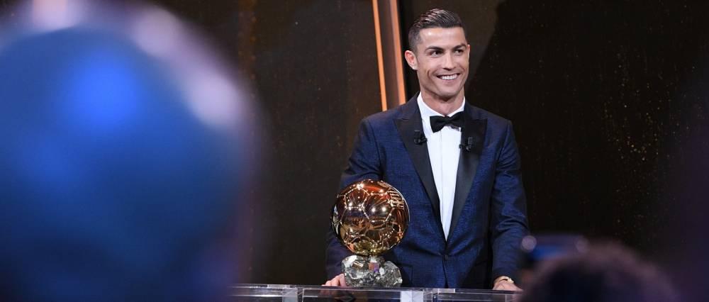 """Роналду сравнялся по количеству """"Золотых Мячей"""" с Месси / medias.lequipe.fr"""