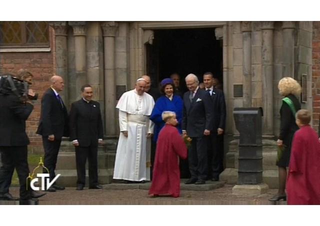 Папа Франциск встретился с президиумом Всемирной лютеранской федерации / CTV