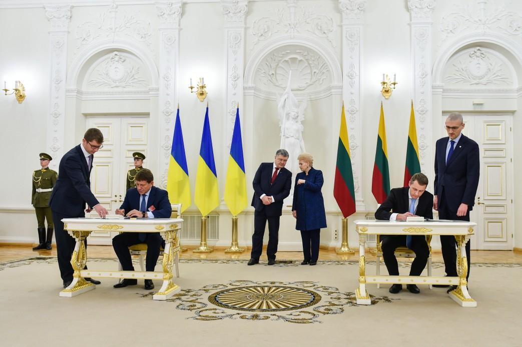Порошенко у Вільнюсі провів зустріч із Грібаускайте / фото president.gov.ua