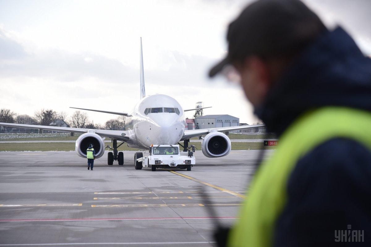 У Львові через відключення світла затримались авіарейси / фото УНІАН