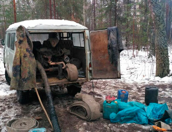 Все обнаруженное изъято и также доставлен в отделение полиции / фото zt.npu.gov.ua