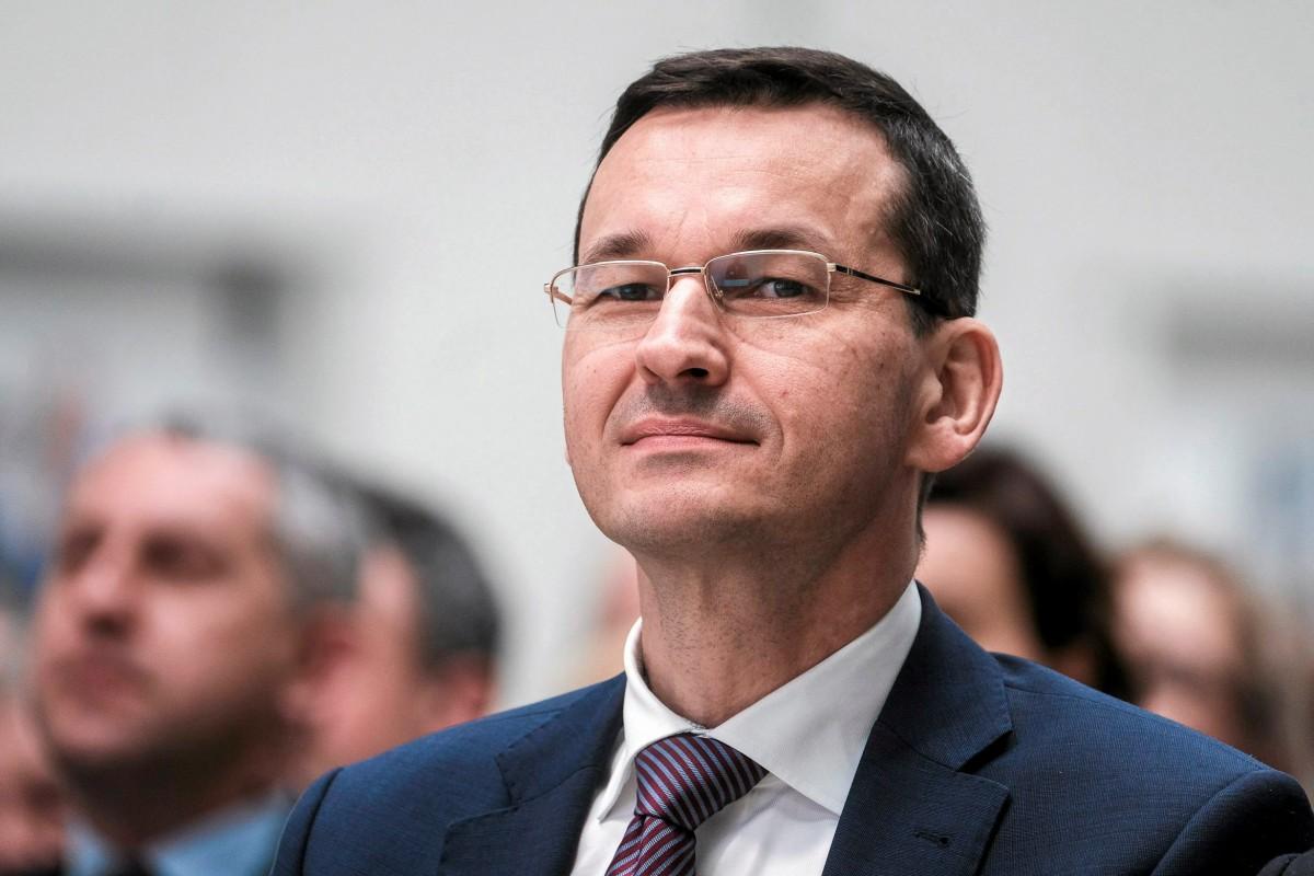 Премьер-министр Польши Матеуш Моравецкий / REUTERS