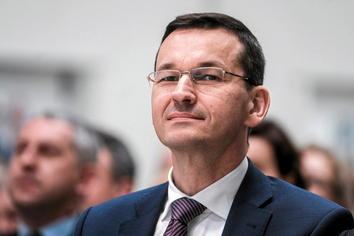 Прем'єр-міністр Польщі Матеуш Моравецький / REUTERS