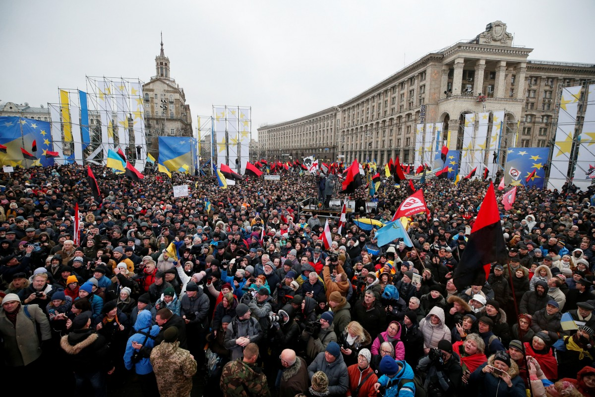 Мітинг на Майдані 10 грудня / REUTERS