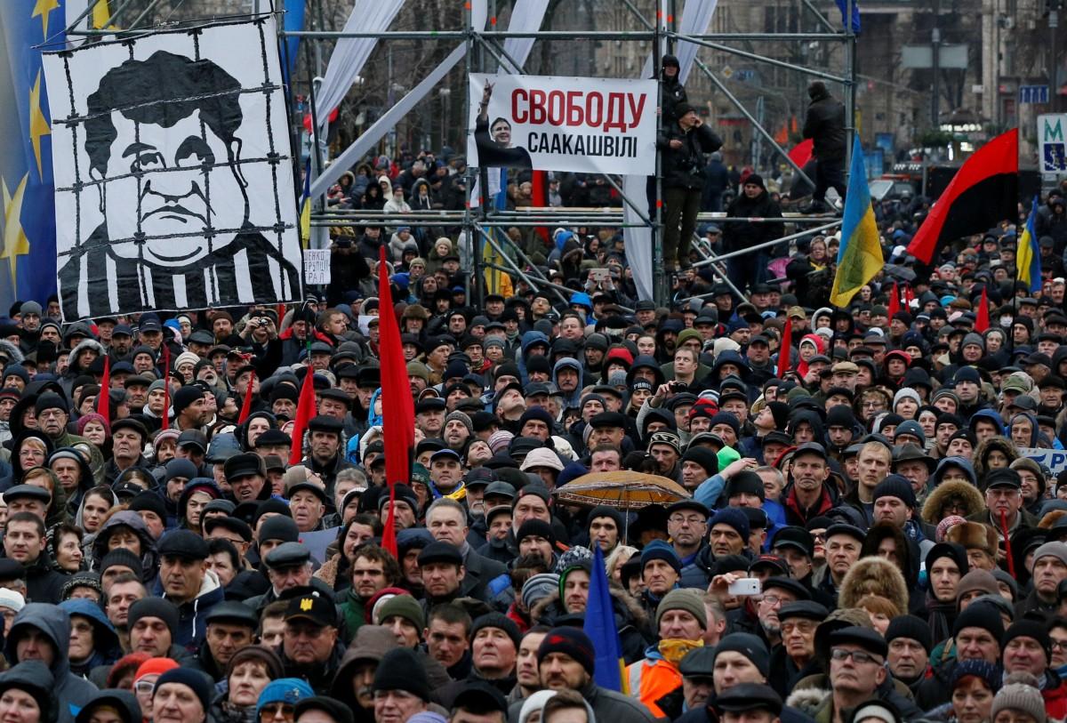 УМВС розповіли, скільки правоохоронців охороняло «Марш за імпічмент» уКиєві