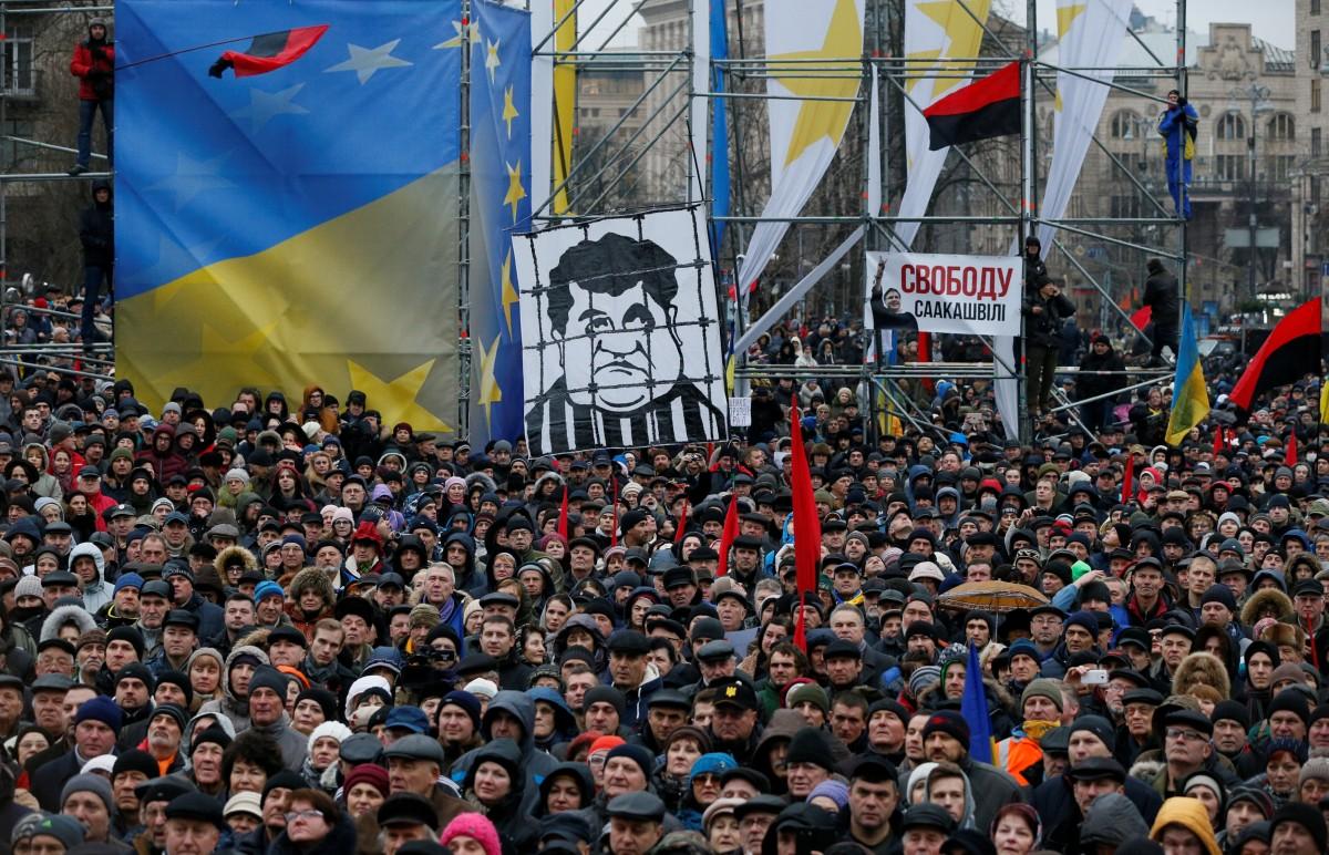 Тисячі людей уКиєві вийшли на«марш за імпічмент»