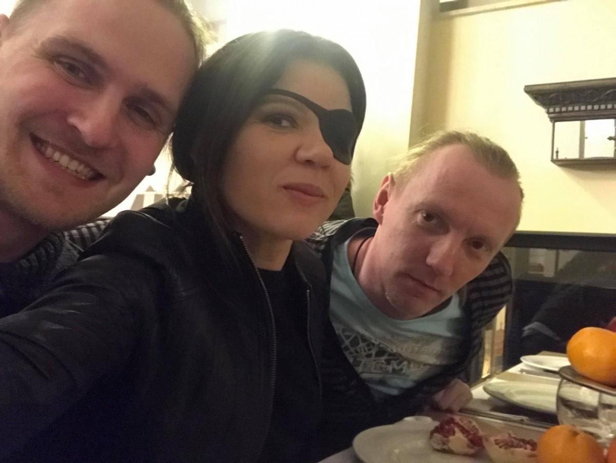 Руслна недавно перенесла операцию на глазу / Facebook Руслана Лыжичко