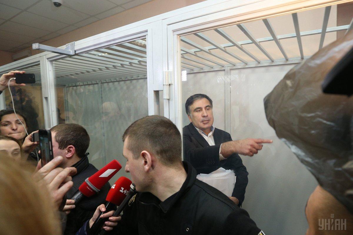 Суд відпустив Саакашвілі наволю