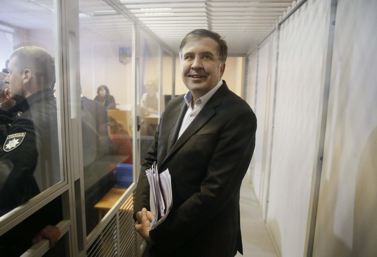 Михеил Саакашвили \ REUTERS