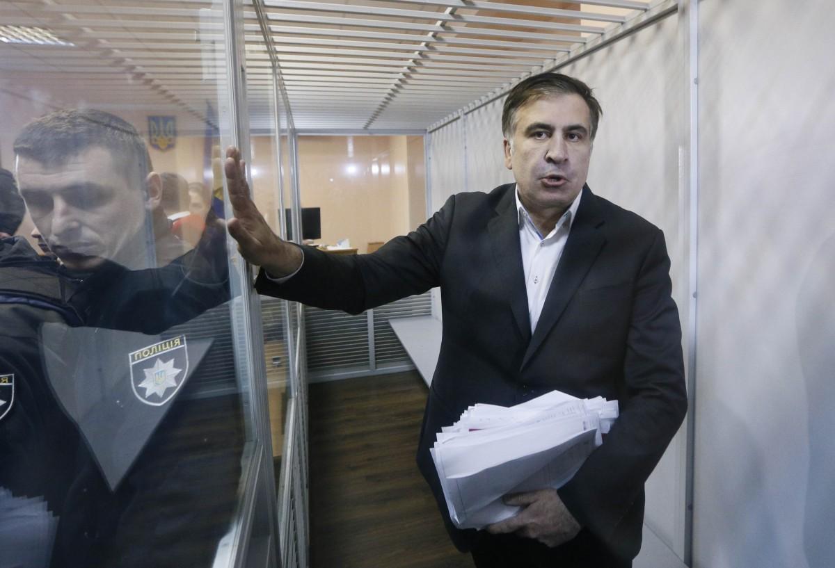 Михеил Саакашвили / фото REUTERS