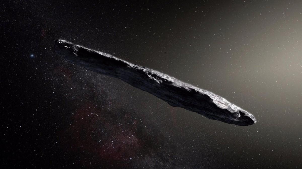 Ученые с помощью радиотелескопа узнают как можно больше о происхождении космического странника Оумуамуа / Иллюстрация European Southern Observatory