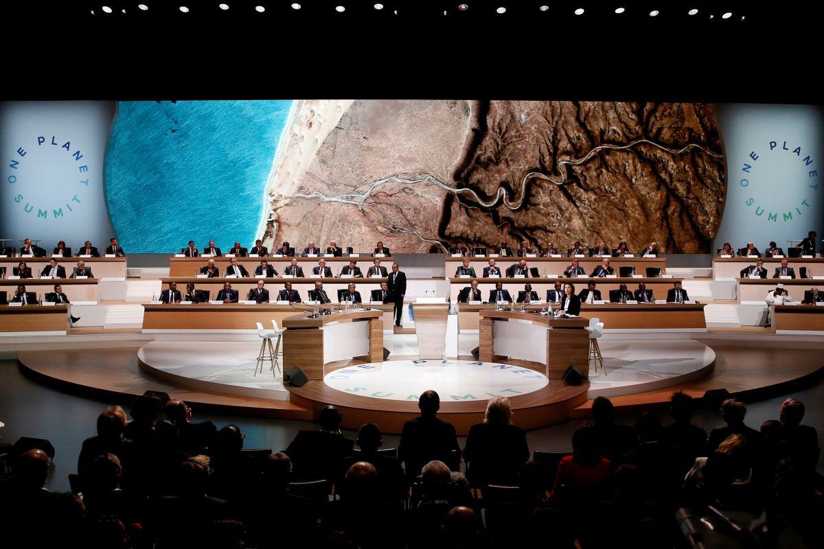 Пленарное заседание климатического саммита / REUTERS