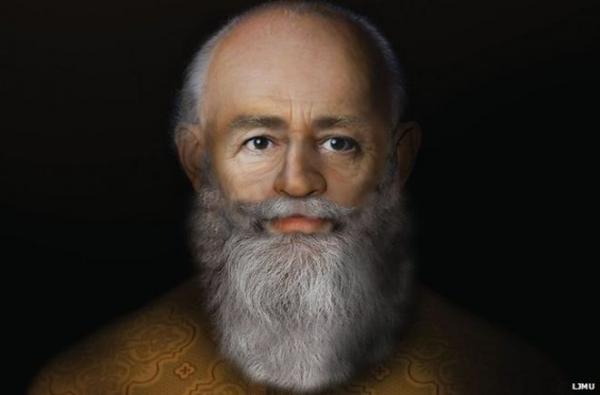 Трехмерный портрет святителя Николая / bbc.com