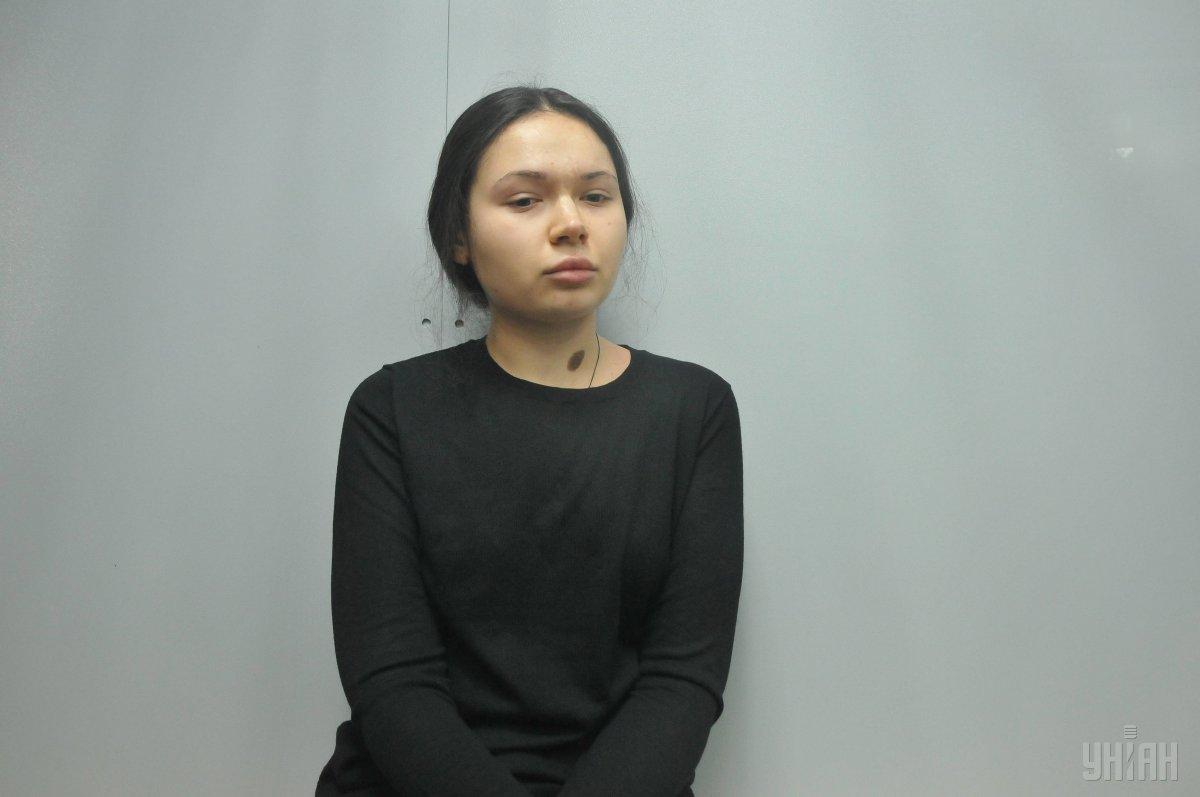 Федірко першою оглядала Зайцеву після аварії / фото УНІАН
