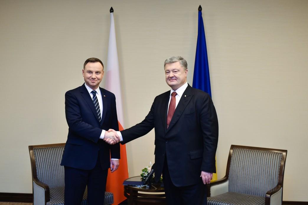Порошенко провел переговоры с Дудой / president.gov.ua