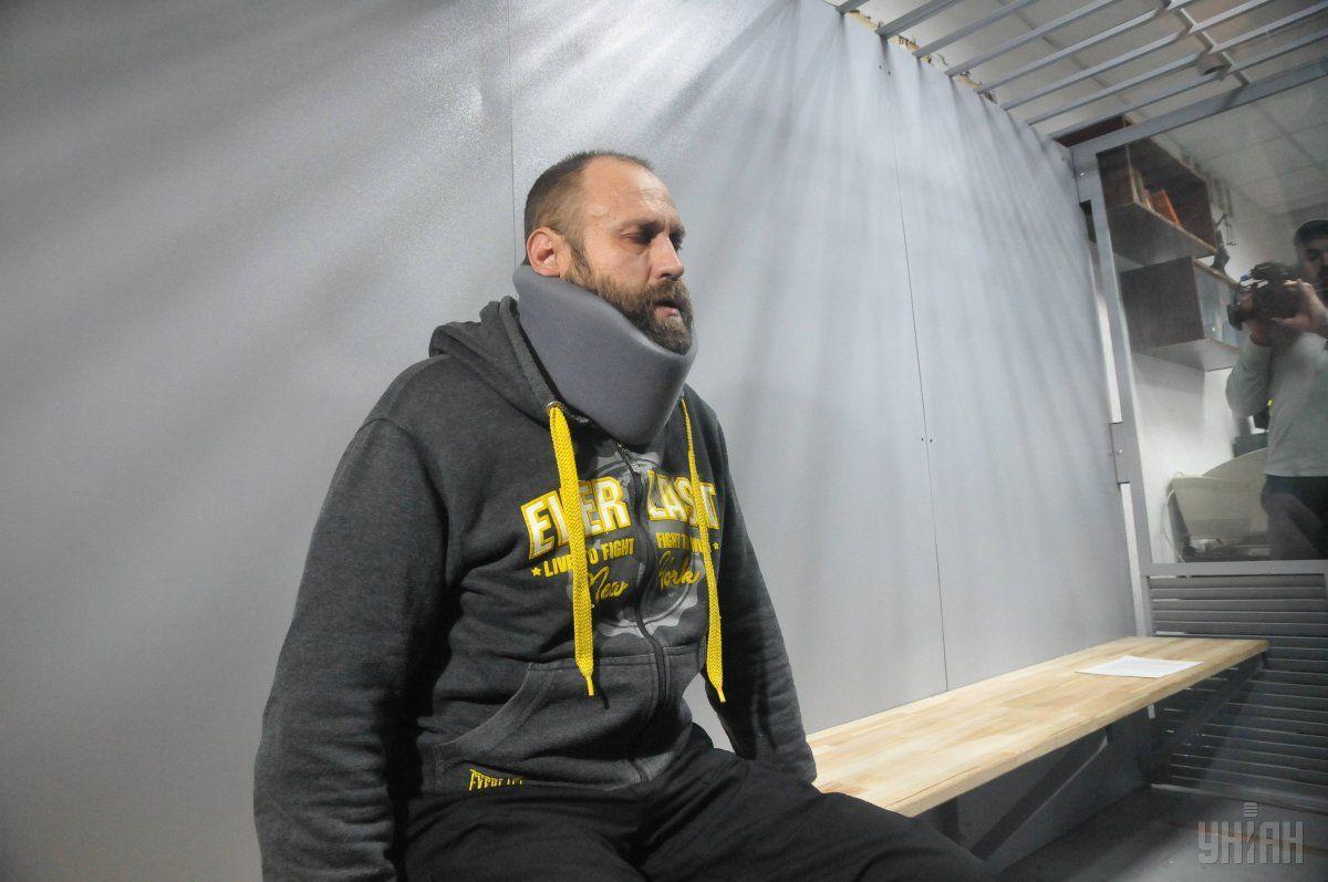 Дронов в суде отказался давать показания / фото УНИАН