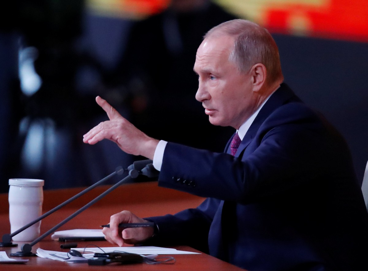 Володимир Путін / REUTERS