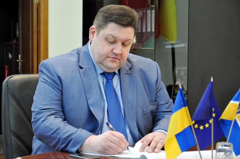 Прошлого года председатель Житомирской ОГА получил 20 тыс. 408 грн от предоставления имущества в аренду / фото oda.zt.gov.ua