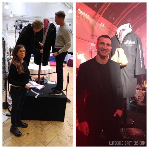Кличко продал свой халат, в котором выходил на бой с Джошуа / klitschko-brothers.com