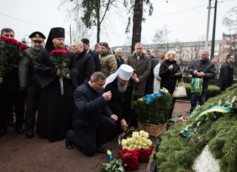 Предстоятель УПЦ вшанував пам'ять ліквідаторів аварії на Чорнобильській АЕС /