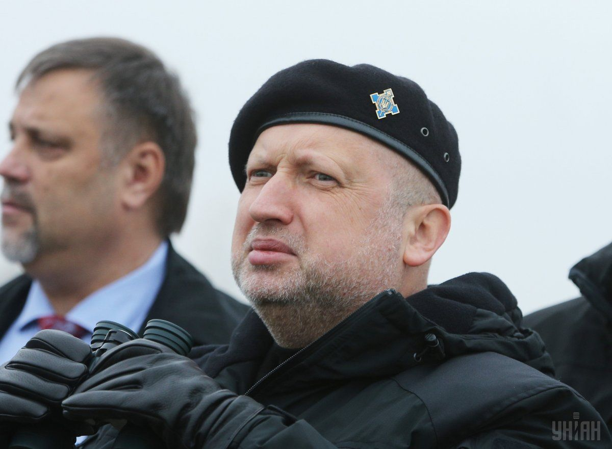 Secretary of the National Security and Defense Council Turchynov / Photo from UNIAN