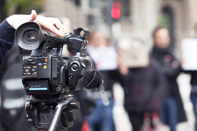 Двох журналістів затримали під час протестів у Білорусі / фото ТВЦ