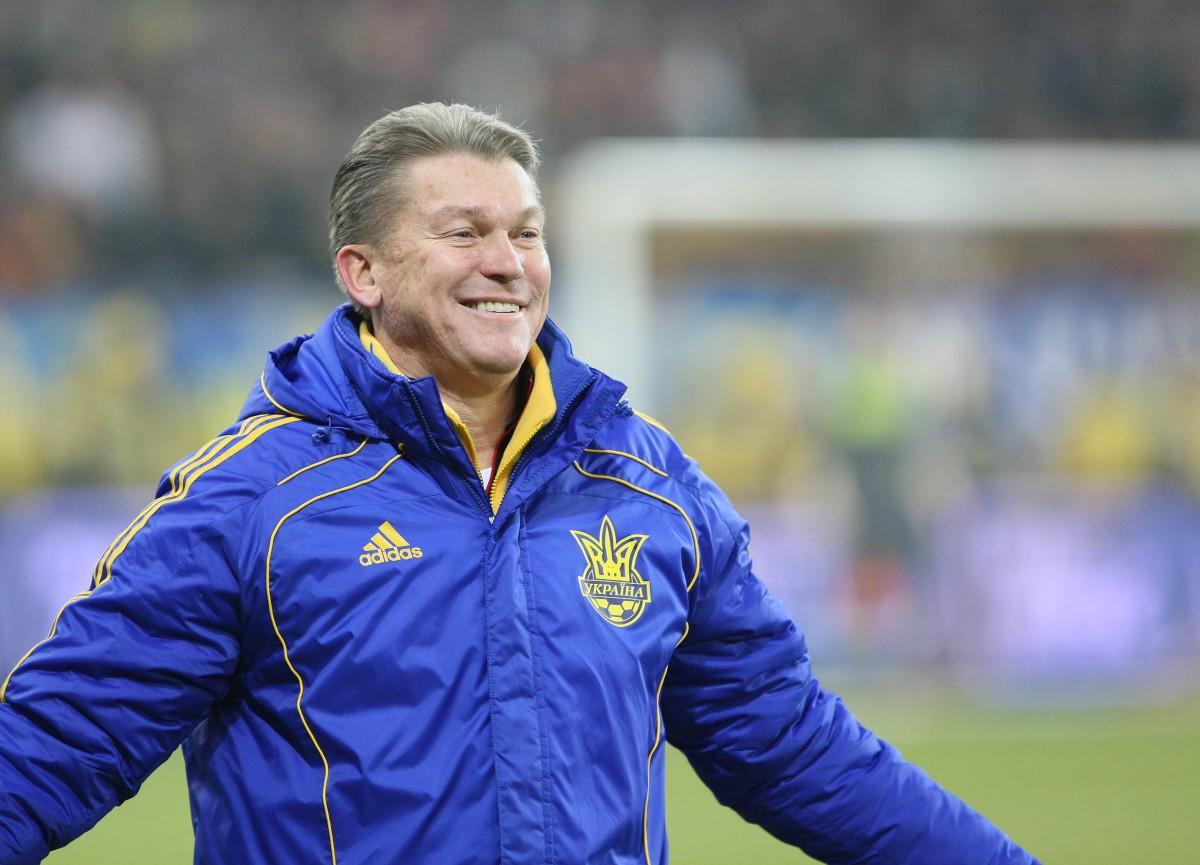 Олег Блохин дважды работал со сборной Украины/ фото: ffu.org.ua
