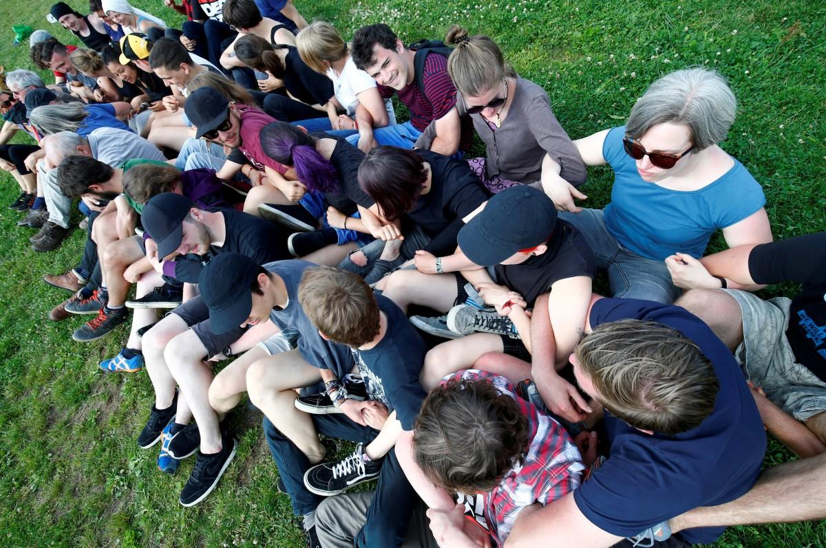 На день молодежи в Киеве запланирован целый ряд мероприятий / REUTERS