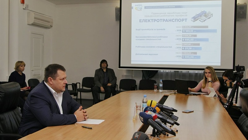 Филатов убежден, что это будет мотивировать работников работать лучше / фото dniprorada.gov.ua