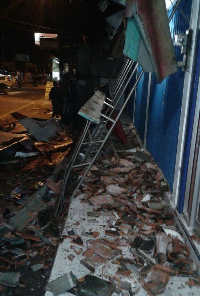 Наслідки землетрусу в Індонезії / фото twitter.com/Sutopo_BNPB