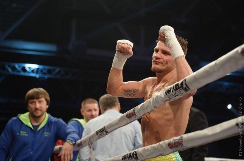 Беринчик впервые завоевал титул на профессиональном ринге / K2
