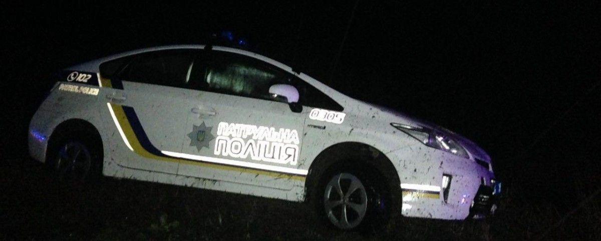 Мужчина угнал машину патрульных / фото 0512.com.ua
