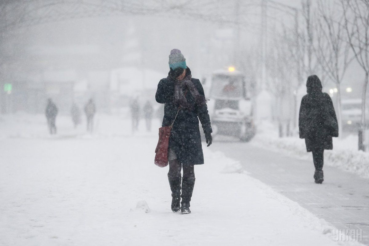 До України прийдуть сильні снігопади / УНІАН