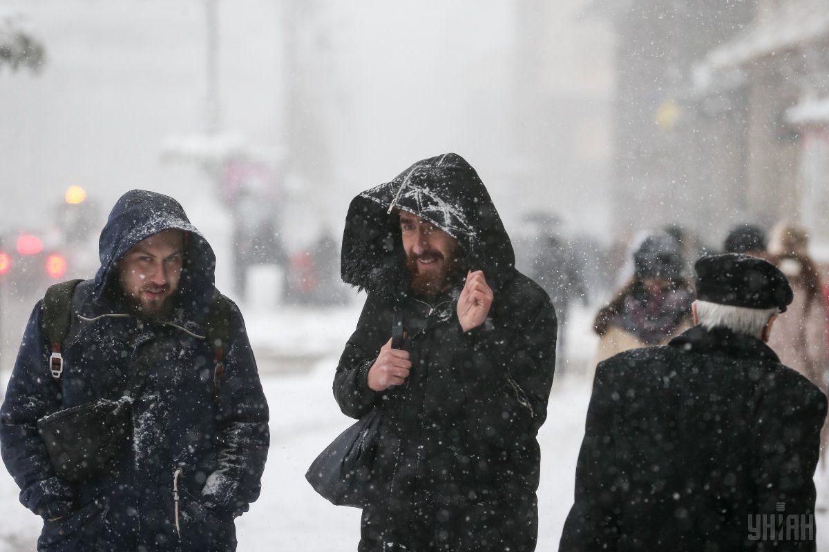 В Україні похолоднішає, але сильних морозів поки не прогнозується / фото УНІАН