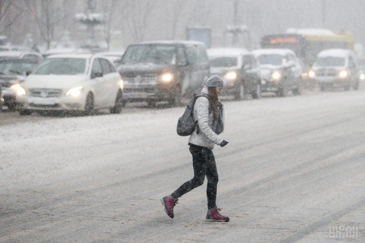 У столиці сьогодні пройде сніг / УНІАН