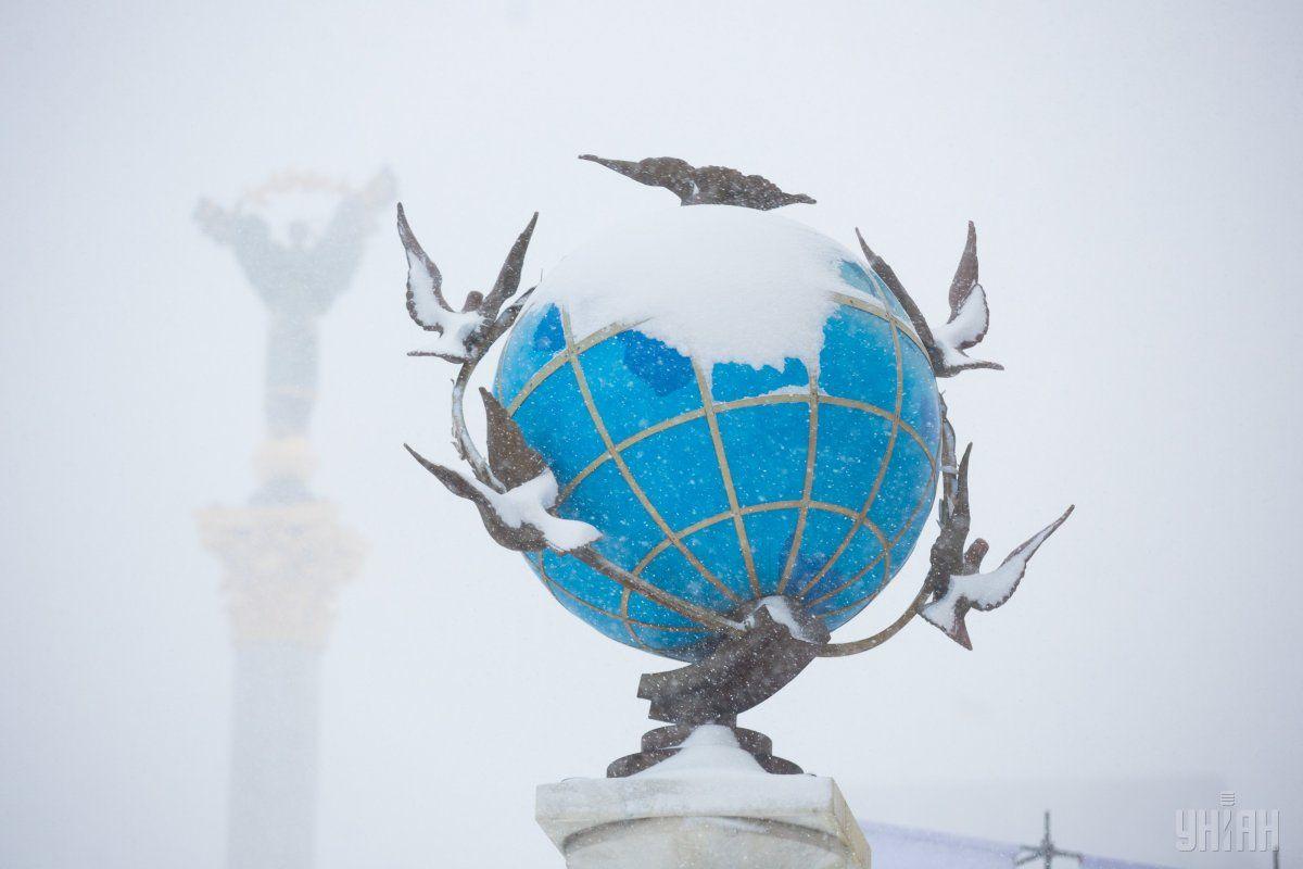 У Києві знову йтиме сніг / фото УНІАН
